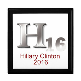 Hillary 2016 large square gift box