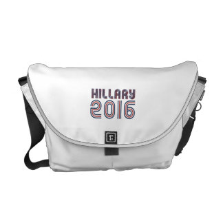 HILLARY 2016 LINE RETRO COURIER BAGS