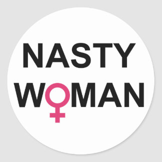 Hillary 2016 Nasty Woman sticker