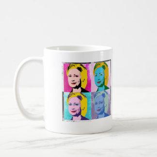 hillary 2016 pop art - -  coffee mug