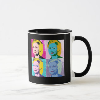 HILLARY 2016 Pop Art - copy Mug