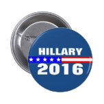 Hillary 2016 Presidential Election Campaign 6 Cm Round Badge