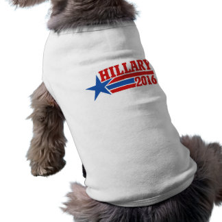 Hillary 2016 sleeveless dog shirt