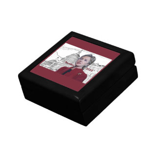 Hillary 2016 small square gift box
