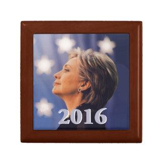 Hillary 2016 small square gift box