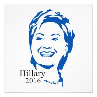 Hillary 2016 Vote Hillary Clinton for President Photo Art