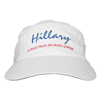"""Hillary. A Taco Truck On Every Corner"" Hat"