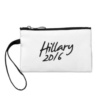 HILLARY AUTOGRAPH 2016 COIN WALLETS