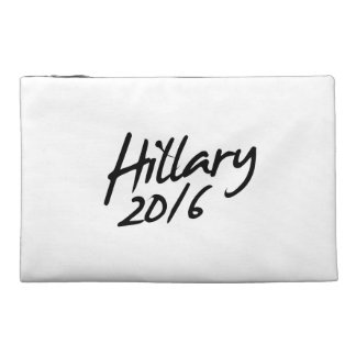 HILLARY AUTOGRAPH 2016 TRAVEL ACCESSORIES BAG
