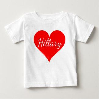 """""""Hillary"""" Baby T-Shirt"""