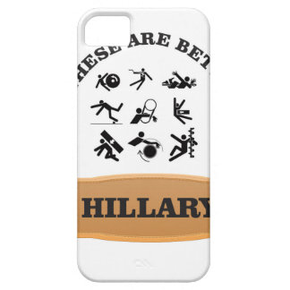 hillary bad iPhone 5 cases