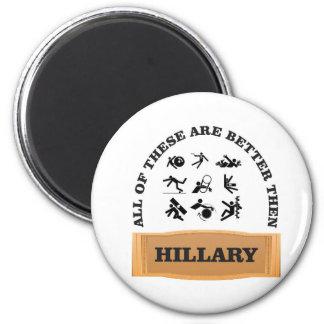 hillary bad magnet