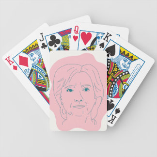 Hillary Bicycle Playing Cards