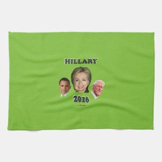 Hillary_Bill_Barack Kitchen Towel