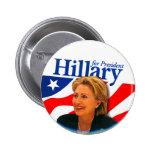 Hillary - Button