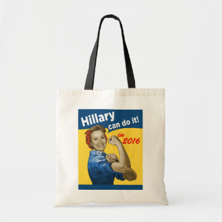 Hillary Can Do It 2016 Budget Tote Bag
