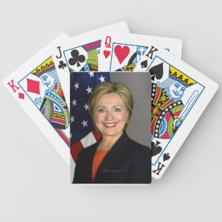 Hillary Clinton2 Bicycle Playing Cards