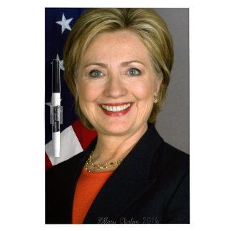 Hillary Clinton2 Dry-Erase Whiteboards