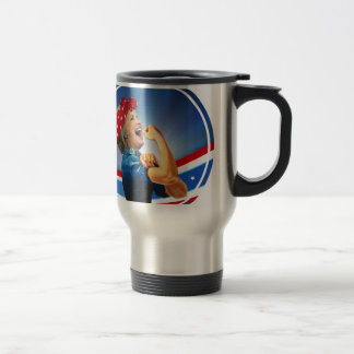 Hillary Clinton 1st Woman Presidential Nominee Travel Mug