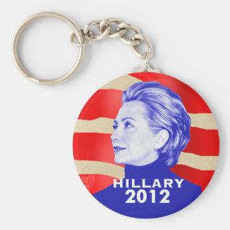 Hillary Clinton 2012 Keychain