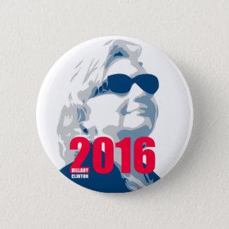 Hillary Clinton 2016 6 Cm Round Badge