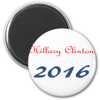 Hillary Clinton 2016 6 Cm Round Magnet