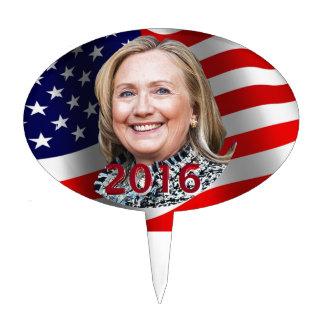 Hillary Clinton 2016 Cake Pick