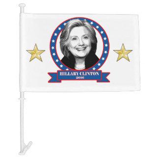 Hillary Clinton 2016 car flag. Car Flag
