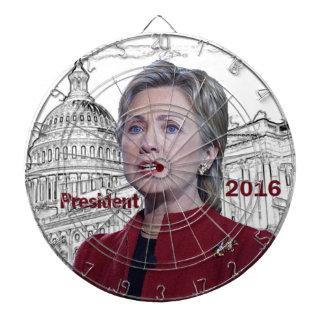Hillary Clinton 2016 Dartboards