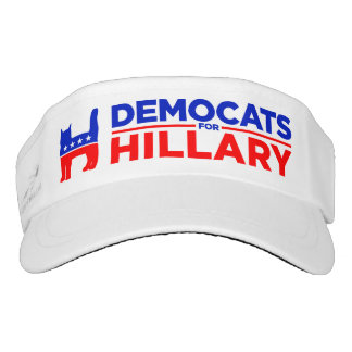 "Hillary Clinton 2016 ""Democats for Hillary"" Visor"
