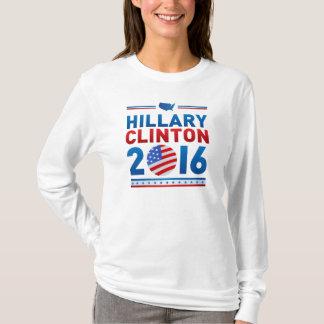 Hillary Clinton 2016 Hanes Nano Long Sleeve TShirt