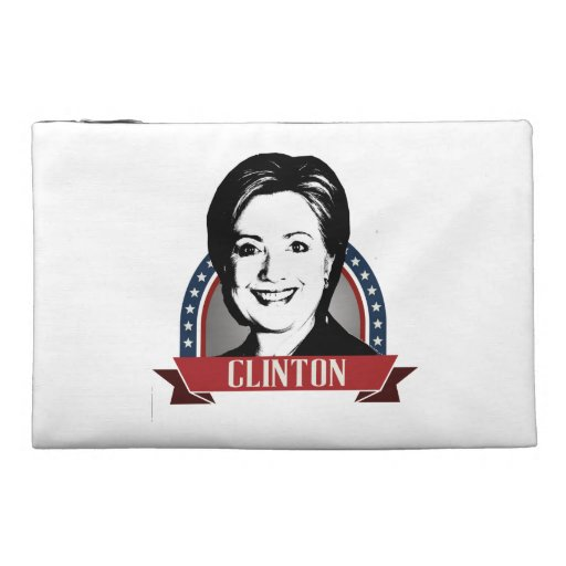 HILLARY CLINTON 2016 NAMEPLATE TRAVEL ACCESSORIES BAG