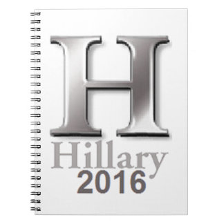 Hillary Clinton 2016 Note Book