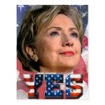 Hillary Clinton 2016 Postcard