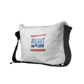 HILLARY CLINTON 2016 SIGNAGE MESSENGER BAGS