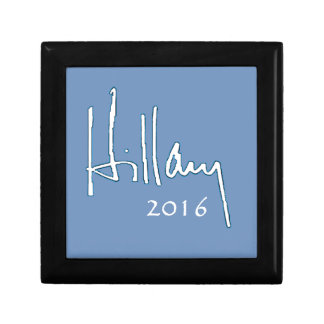 Hillary Clinton 2016 Small Square Gift Box