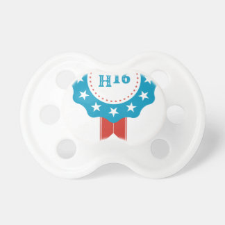 Hillary Clinton Baby Pacifiers