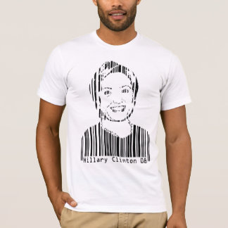 Hillary Clinton Barcode T-Shirt