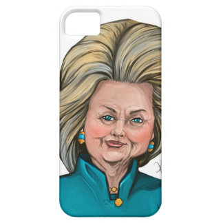 Hillary Clinton Caricature iPhone 5 Cases