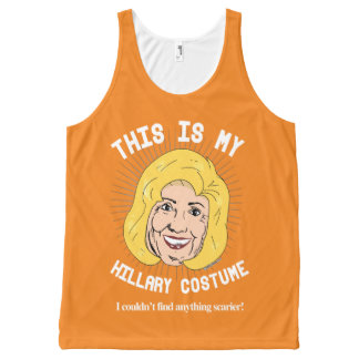 Hillary Clinton Costume - I couldn't find anything All-Over Print Singlet