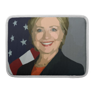 """Hillary Clinton election 2016 Macbook Pro 13"""" Sleeves For MacBook Pro"""