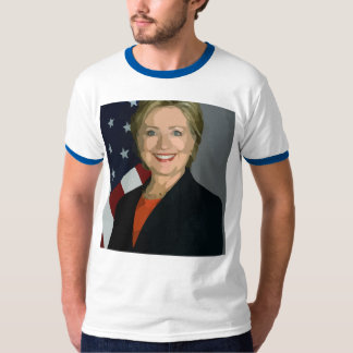 Hillary Clinton election 2016 Men's Ringer T-Shirt