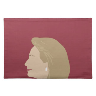 Hillary Clinton Feminist Placemat