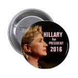 Hillary Clinton for President 2016 6 Cm Round Badge