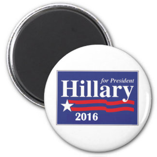 Hillary Clinton for President 2016 6 Cm Round Magnet