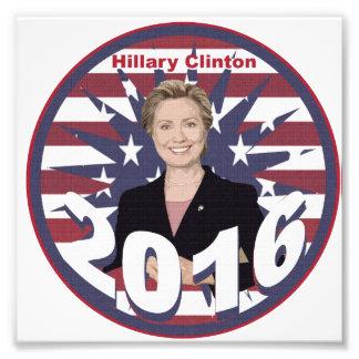 Hillary Clinton for President 2016 Art Photo