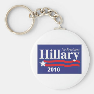 Hillary Clinton for President 2016 Basic Round Button Key Ring