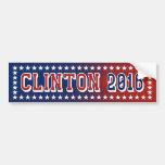Hillary Clinton For President 2016 Bumper Sticker Car Bumper Sticker