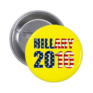 Hillary Clinton for president 2016 Button