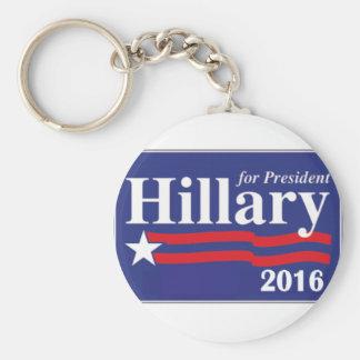 Hillary Clinton for President 2016 Key Ring